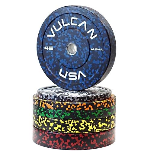 Vulcan Alpha Bumper Plates Set