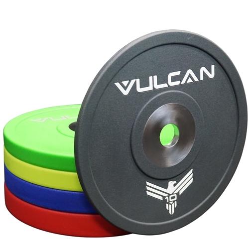 Vulcan Prime 210 lb Urethane Bumper Plates Set
