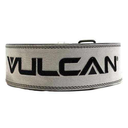 Vulcan Grey Leather Powerlifting Belt