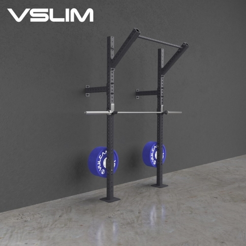 Buy Slim Fit Wall Mounted Pull Up Rig And Squat Rack
